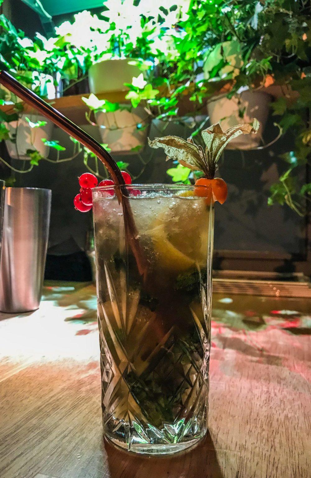 Le Windsor Bar Cocktails Lille Mojito Premium